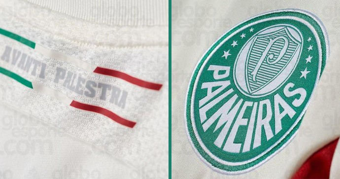c36dc2512aa1b Nova camisa reserva do Palmeiras volta a ter detalhes verde e vermelho