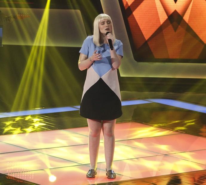 Gabriella Ferreira foi comparada à cantora Sia por Claudia Leitte  (Foto: Raphael Dias/Gshow)