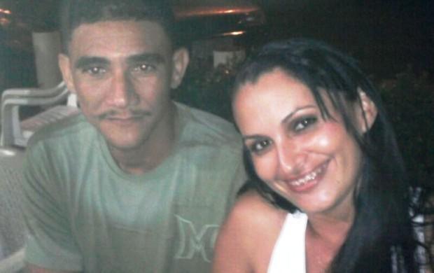 José Ordílio e Preta Rodrigues fora dos campos (Foto: Arquivo Pessoal)