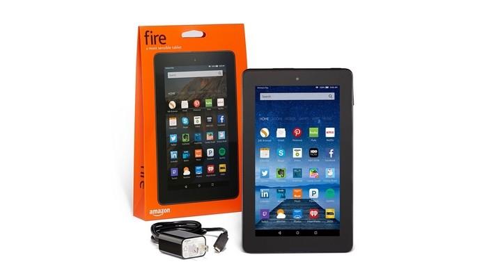 Tablet Fire, da Amazon, custa US$ 50 e vem em saco de papelão (Foto: Divulgação)