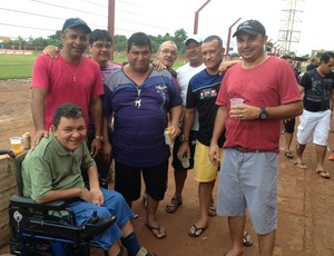 Torcida do Guajará na disputa contra o Rondoniense (Foto: Junior Freitas)