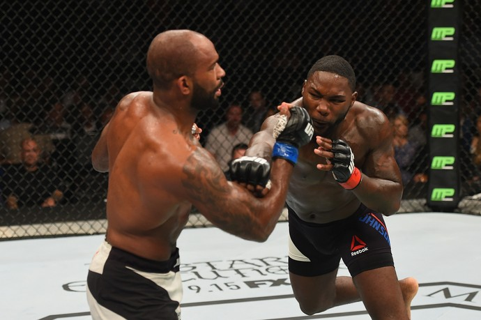 Anthony Johnson e Jimi Manuwa UFC 191 (Foto: Getty Images)