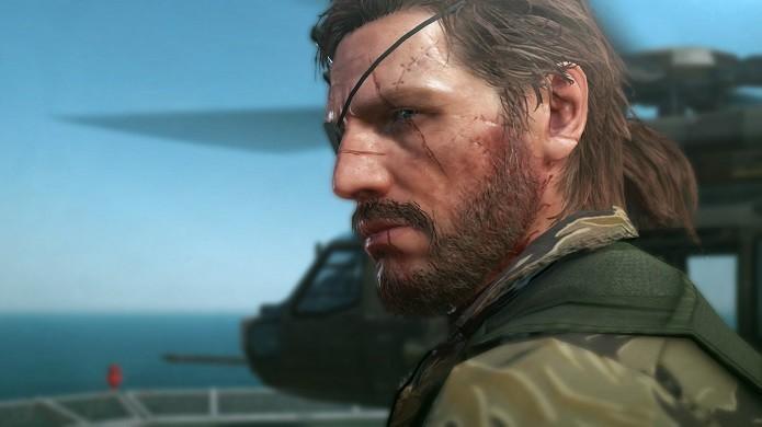 Snake te espera em Metal Gear Solid V: The Phantom Pain (Foto: Reprodução/Thiago Barros)