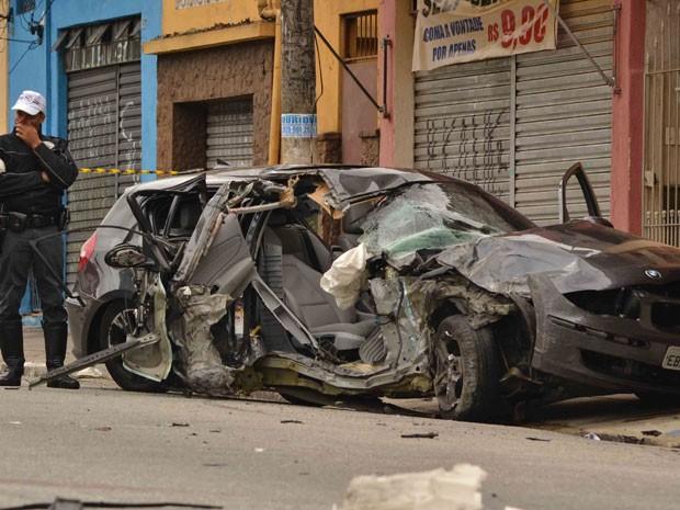 Caso foi registrado no 13º DP, na Casa Verde (Foto: Wilson de Oliveira Delgado/VC no G1)