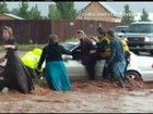 Inundações deixam mortos em cidade no Utah, nos EUA