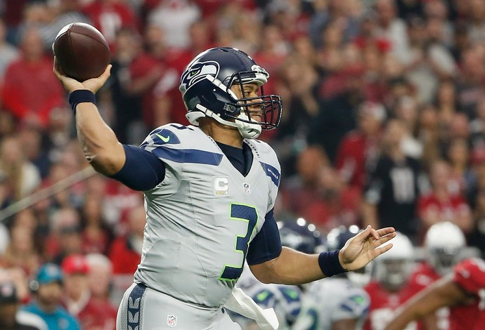 Russell Wilson Seattle Seahawks NFL (Foto: Christian Petersen / Getty Images)