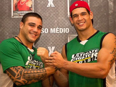 Sarafian e Mutante, TUF Brasil (Foto: Divulgação / TUF Brasil)