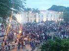 Estudantes protestam contra aumento de passagens em São Luís