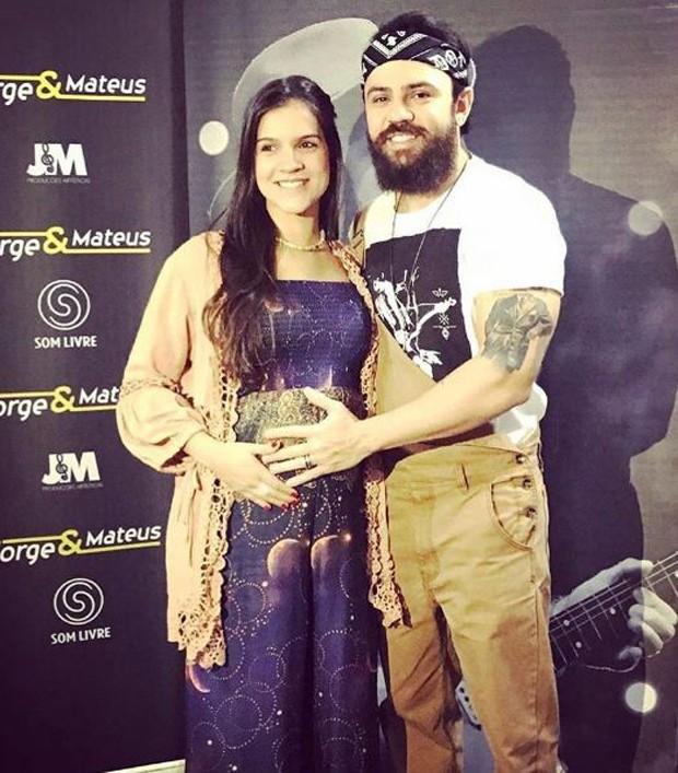 Marcella Barra e Mateus, da dupla com Jorge (Foto: Reprodução/Instagram)