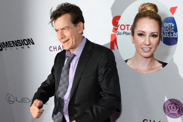 Charlie Sheen e sua ex, a atriz pornô Scottine Sheen (Foto: Getty Images)