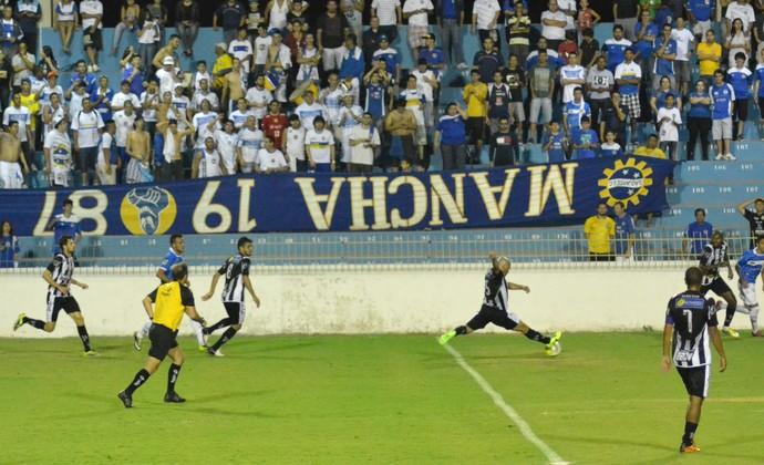 Mancha Azul São José x Comercial Copa Paulista (Foto: Filipe Rodrigues)