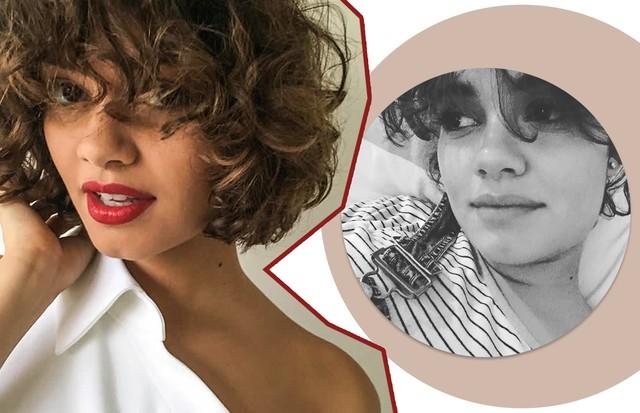 Curly Bangs: Taís Araújo (Foto: Reprodução/ Instagram)