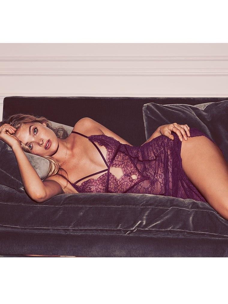 Elsa Hosk mostra sua sensualidade em nova campanha de lingerie (Foto: Divulgação)