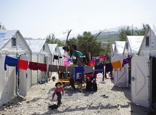 Os abrigos podem servir de acomodação, escritório ou suportes de ajuda médica. (Foto: Divulgação/Better Shelter)