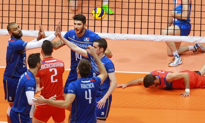 França na final da Liga Mundial (Foto: Divulgação/FIVB)