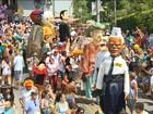 Folia nas cidades históricas de Minas Gerais é com ordem de poupar água