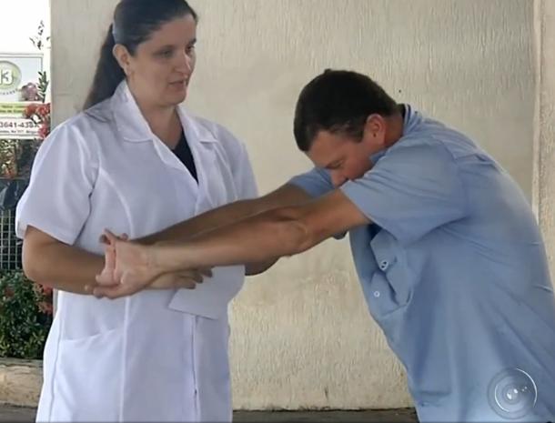 Exercícios leves podem ajudar na dimuição de peso  (Foto: Reprodução / TV TEM )