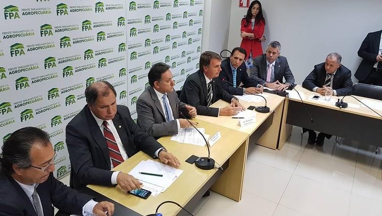politica-fpa-bolsonaro (Foto: Divulgação/FPA)