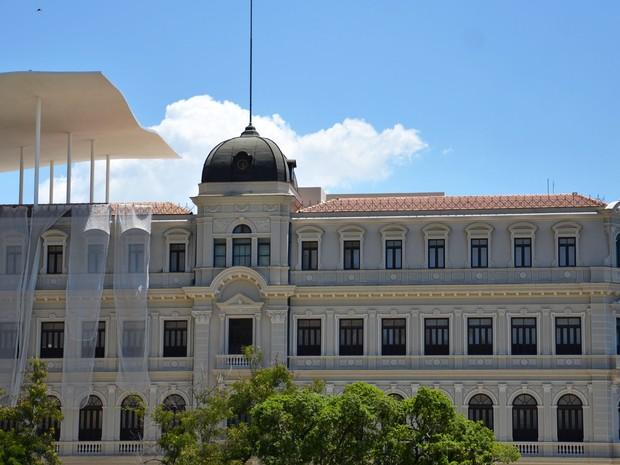 Fachada do Palacete Dom João VI, um dos prédios que compõem o Museu de Arte do Rio (MAR): edifício abrigará oito salas de exposições a partir desta sexta (1º) (Foto: Alexandre Macieira/Riotur)