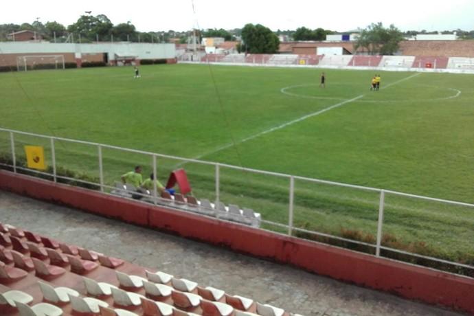 Arena Ytacoatiara (Foto: Emamuelle Madeira/GLOBOESPORTE.COM)