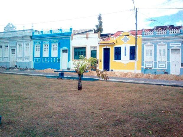 Ilha de Itaparica, na Bahia (Foto: Genildo Lawinscky/TV Bahia)