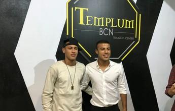 """Rafinha reclama de tratamento da mídia europeia com Neymar: """"É vítima"""""""