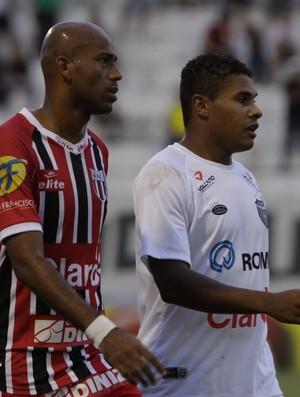 Atacante Nunes, do Botafogo-SP (Foto: Rogério Moroti/Ag. Botafogo)