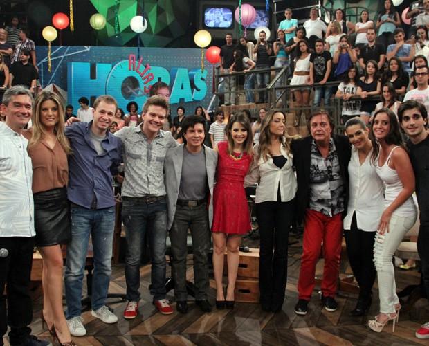 Serginho Groisman grava Altas Horas de réveillon com muitas atrações (Foto: TV Globo/Altas Horas)