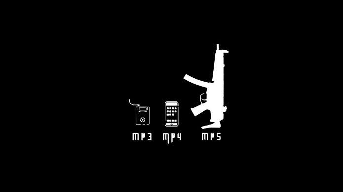 Brincadeira que se fazia sobre os MP5 (Foto:Flickr/Licença Creative Commons)