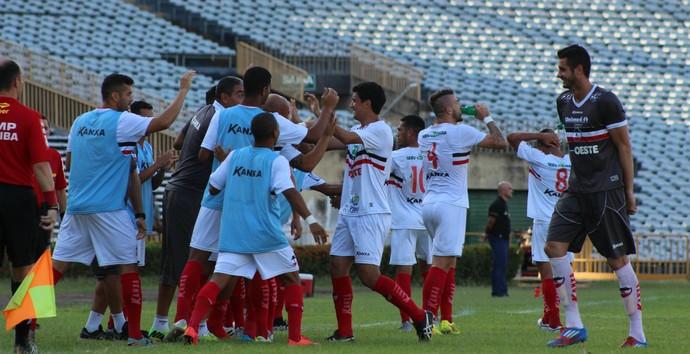 River-PI x Botafogo-PB, Série C (Foto: Joana D'arc Cardoso/GloboEsporte.com)