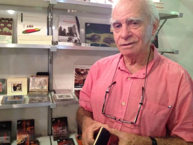 Ignácio de Loyola Brandão (Foto: Luana Leão/G1)