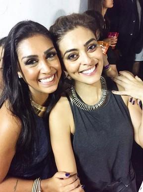Amanda Djehdian e Juliana Paes (Foto: Instagram / Reprodução)