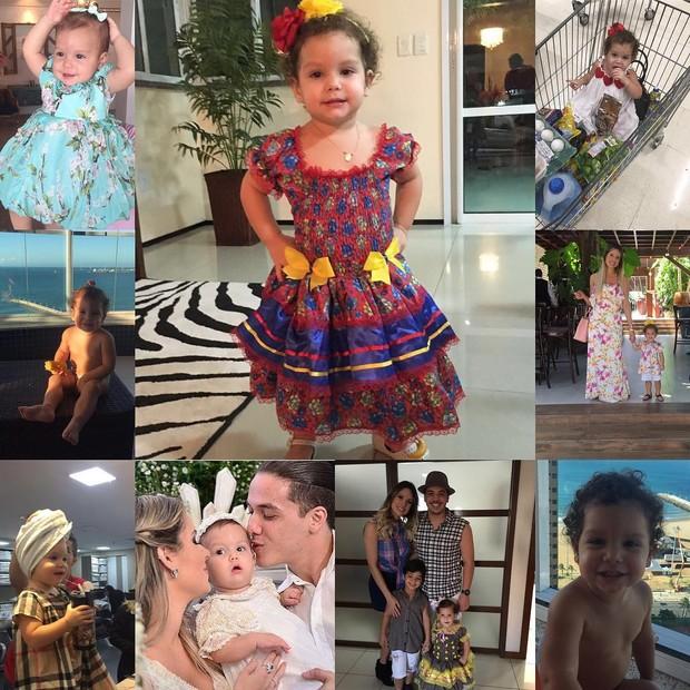 Wesley Safadão parabeniza a filha, Ysis (Foto: Reprodução / Instagram)