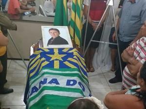 Prefeito eleito morreu em um acidente na PI-375 (Foto: Antônio Joaquim/Arquivo pessoal)