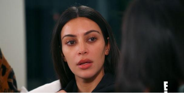 Kim entra em detalhes sobre o momento do roubo em Paris (Foto: Reprodução )
