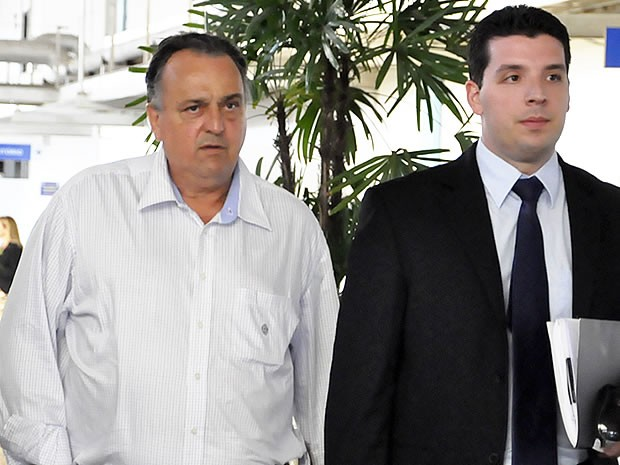 Ex-deputado federal Pedro Henry em Cuiabá (Foto: Kelly Martins/G1)
