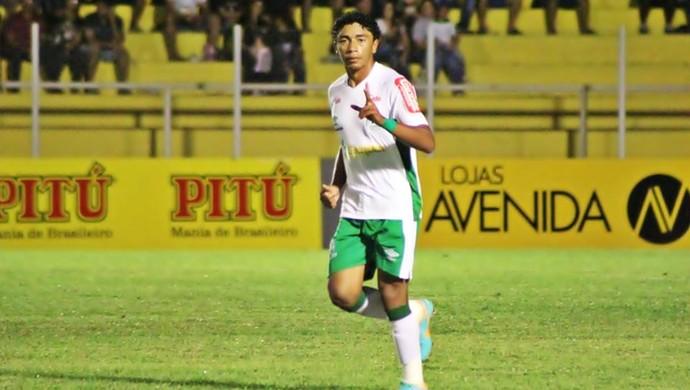 Misael fez dois gols na vitória diante do ABC (Foto: Assessoria/Luverdense)