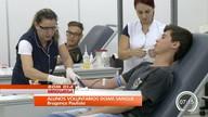 Alunos voluntários doam sangue em Bragança Paulista