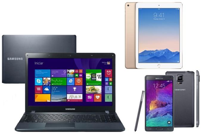 iPad Pro pode ser substituído por kit profissional com notebook, Galaxy Note 4 e iPad Air 2 (Foto: Reprodução/Elson de Souza)