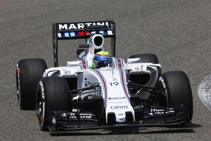 Felipe Massa fez apenas o 11º melhor tempo no terceiro treino do GP da China (Foto: Divulgação)