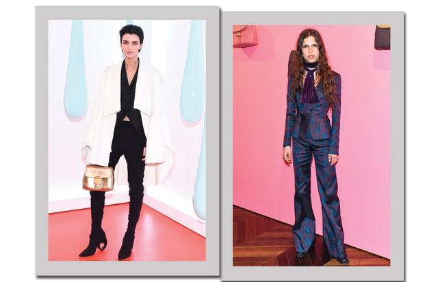 À esquerda, Ruby Rose; à direita, Hayett McCarthy: as damas de calças! (Foto: Divulgação)