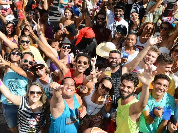 Regional da Nair atraiu foliões ao Centro de Vitória (Foto: Bernardo Coutinho/ A Gazeta)