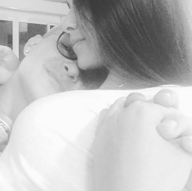 MC Gui postou foto coladinho com Luiza Cioni ao assumir relacionamento (Foto: Instagram/Reprodução)