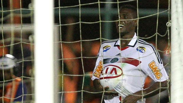 Leandro Amaro gol Palmeiras (Foto: Cesar Greco / Ag. Estado)
