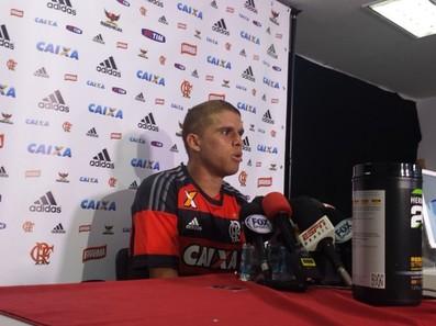 Cuellar Flamengo (Foto: Raphael Zarko / GloboEsporte.com)