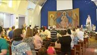 Missa de Ramos é celebrada também no Santuário do Carmo.