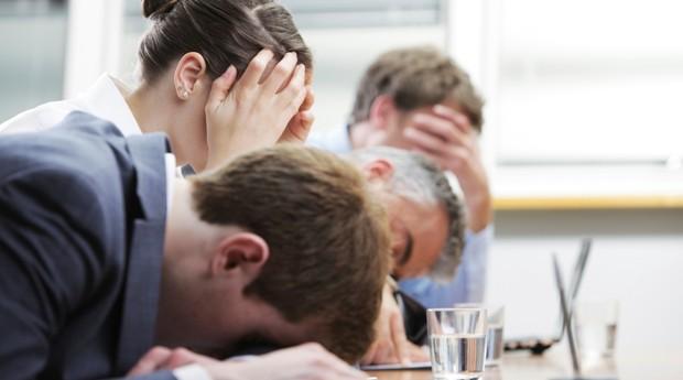 tédio; reunião (Foto: ThinkStock)