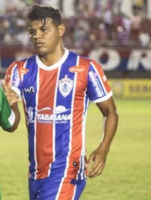 Diego Neves, atacante do Itabaiana (Foto: Wendell Rezende/AOItabaiana)