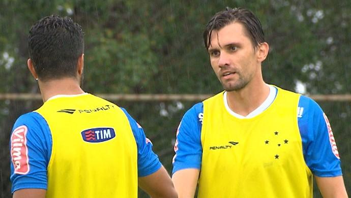 Paulo André, zagueiro do Cruzeiro (Foto: Reprodução/Globo Minas)