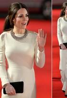 Joias, que nada! Kate Middleton usa colar de R$ 80 para ir a première